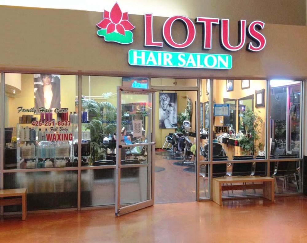lotus hair